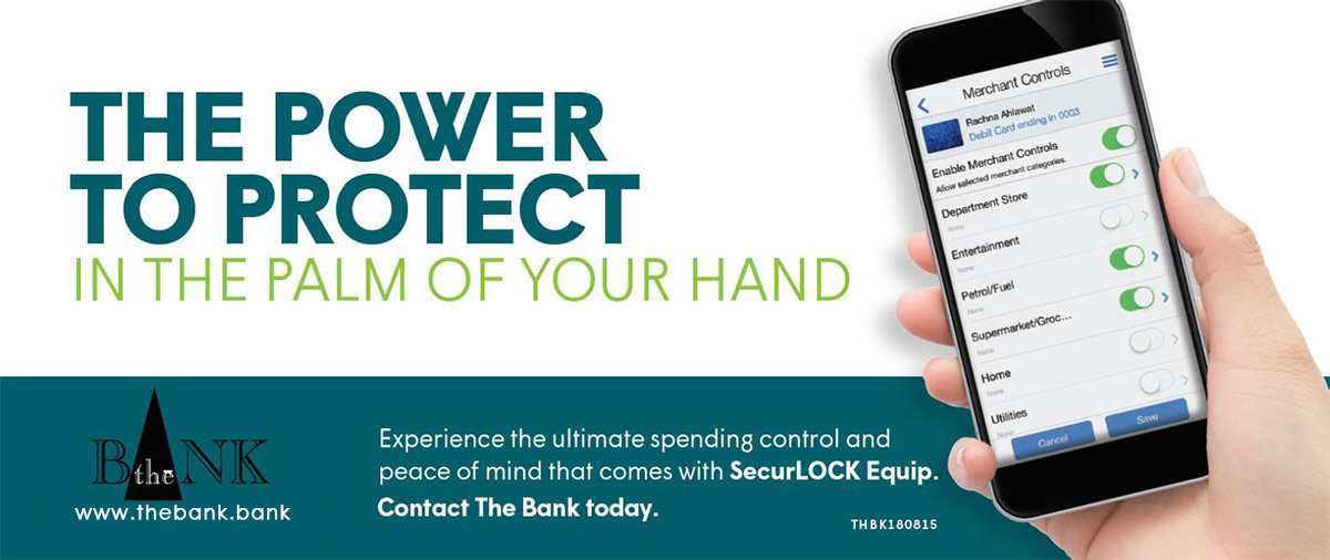 The power to protect in the palm of your hand: SecurLOCK Equip app from The Bank
